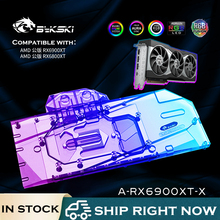 GPU Water-Block Cooling Bykski Founders-Edition A-RX6900XT-X Radeon Video-Card for AMD
