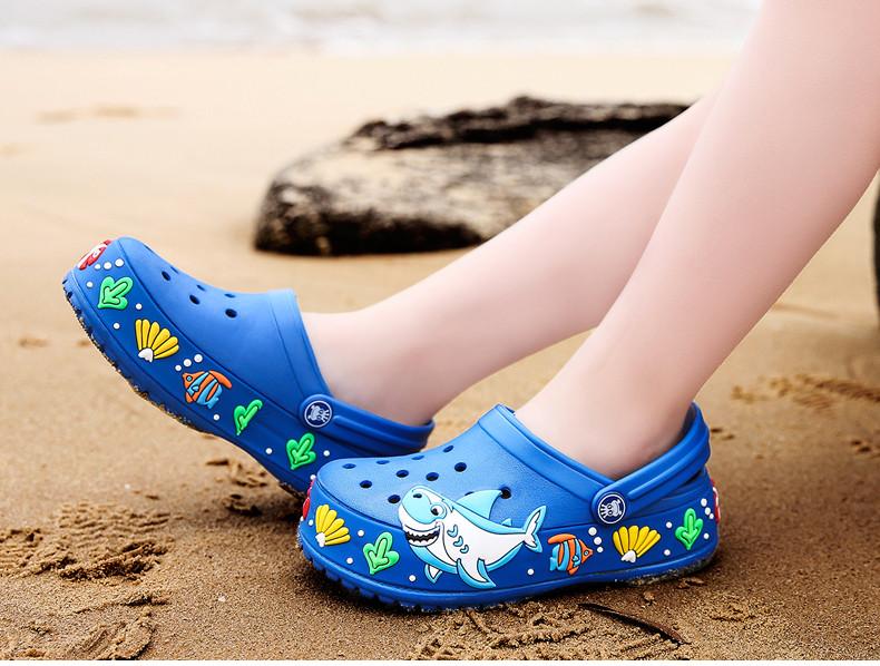 2017 New fashion children garden shoes children cartoon sandal babies summer slippers high quality kids garden children sandals (11)