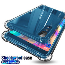 Shockproof Silicone Protection Phone Case For Huawei P30 P40 P20 Lite Mate 10 20 30 40