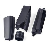 beler 4Pcs Air Intake Cover Guide Inlet Duct Assembly Fit for VW Tiguan Sharan Passat B6 1k0805962E 1K0805965J 3C0805971A