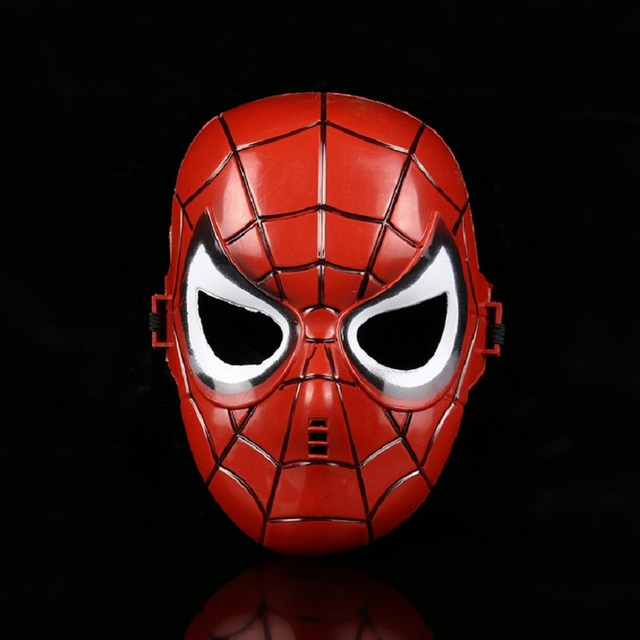 Cosplay Superhero Halloween Mask for Kid & Adult Avengers Marvel Captain America Spiderman Hulk Iron Man Star Wars Mask 1