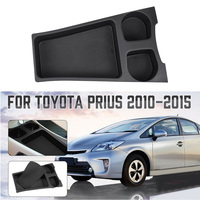Car Center Console Organizer Storage Box Cup Holder Plastic For Toyota Prius 2010 2015 Car Storage Box Auto Parts|Stowing Tidying| |  -