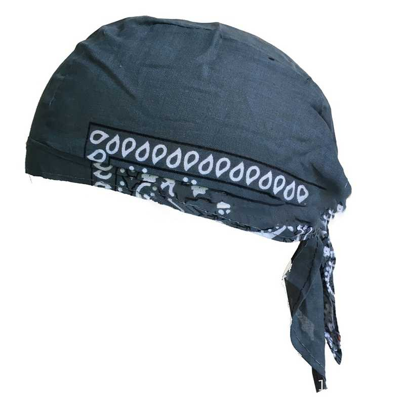 Men  Quick Dry Viking Pirate Hat Outdoor Sport Cycling Caps Running Riding Bandana Headscarf  Hat Headband