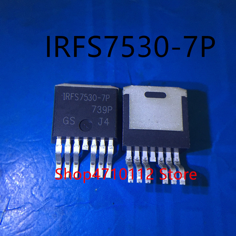Free Shipping NEW 10PCS/LOT IRFS7530-7P IRFS7530-7PPBF IRFS7530 TO-263-7