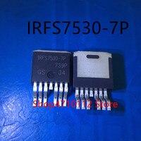 O envio gratuito de NEW 10 pçs/lote IRFS7530 7P IRFS7530 7PPBF IRFS7530 TO 263 7|null|Eletrônicos -
