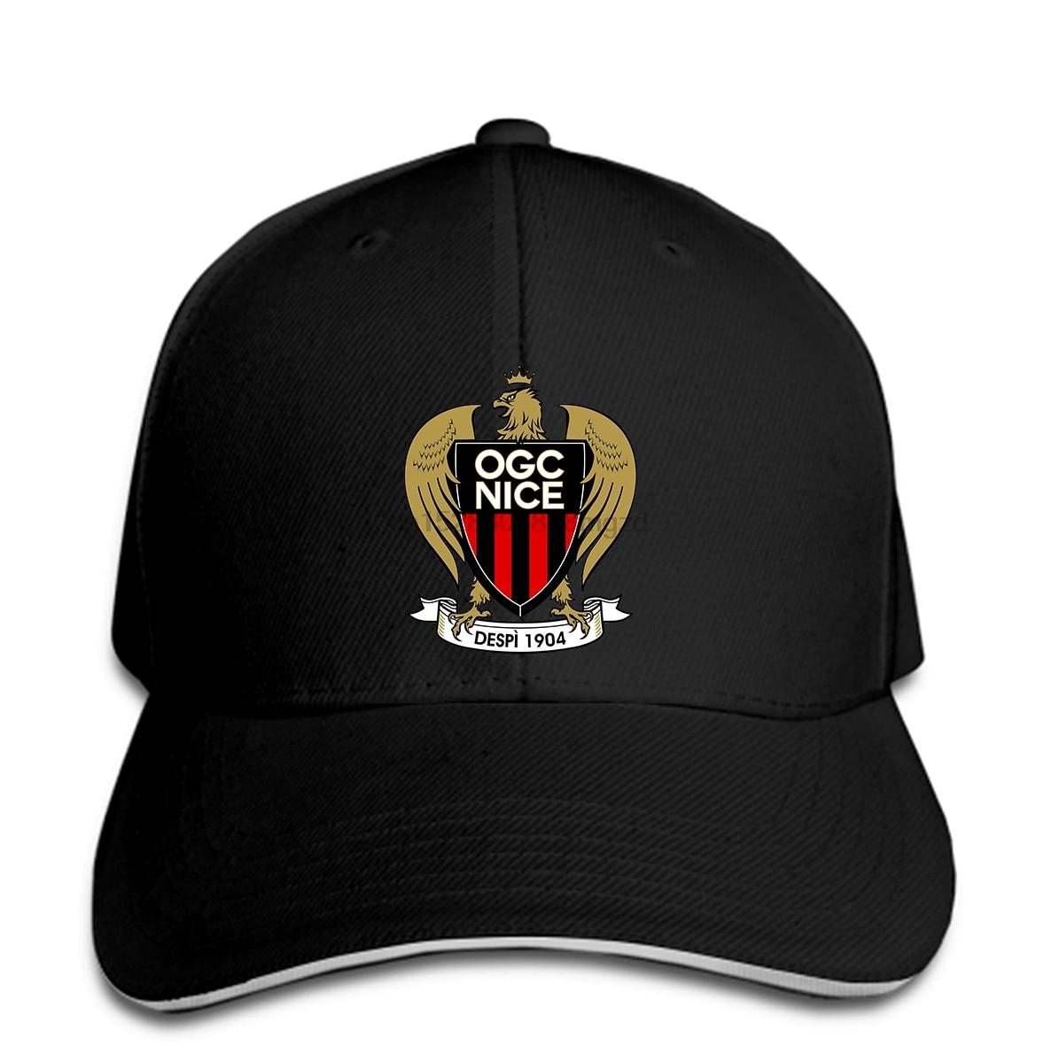 OGC Nice Les Aiglons France Ligue Football Soccer Football Men Baseball Cap Team Sports Snapback Cap Women Hat Peaked