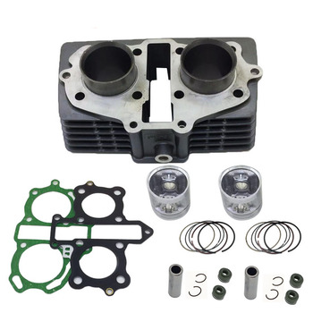 Engine Spare Parts Motorcycle Cylinder Kit 44mm pin 13mm For Honda CBT125 CL125 QJ125 CM125 TWIN CA125 CBT CL CM 125 125cc
