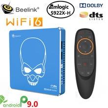 Beelink GT-Pro rey Dispositivo de Tv inteligente Amlogic S922X-H Android 9,0 4GB 64GB WIFI 6 1000M LAN BT5.0 4K Dolby Audio DTS Set Top Box