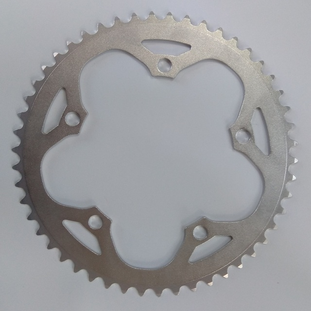 TRUYOU Chain Wheel Road Bicycles Parts Crankset Bicycle Chainring 130BCD 38T 39T 40T 42T 44T 48T 53T 56T CNC Silvery Chain Rings