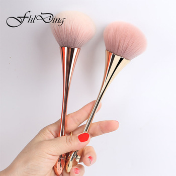 1pc Powder Foundation Brush Makeup Brushes Set Professional Cosmetics Brushes Eye Shadow Lip Brushes Set Face Beauty Makeup Tool 1