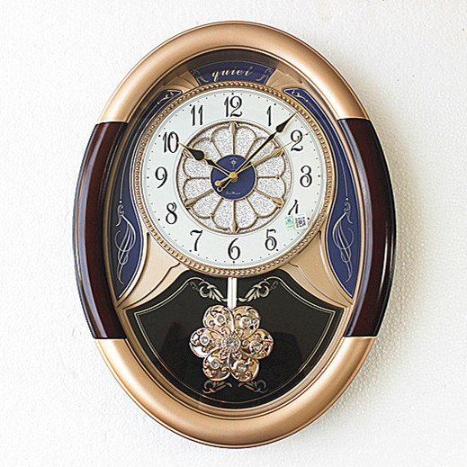 Grande horloge murale Vintage pendule horloges mur décor à la maison Shabby Chic salon 20 pouces créatif Duvar Saati idées cadeaux SC507