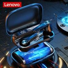 Lenovo qt81 xt91 fone de ouvido sem fio bluetooth fones à prova dtwágua alta fidelidade fone estéreo com microfone tws esporte
