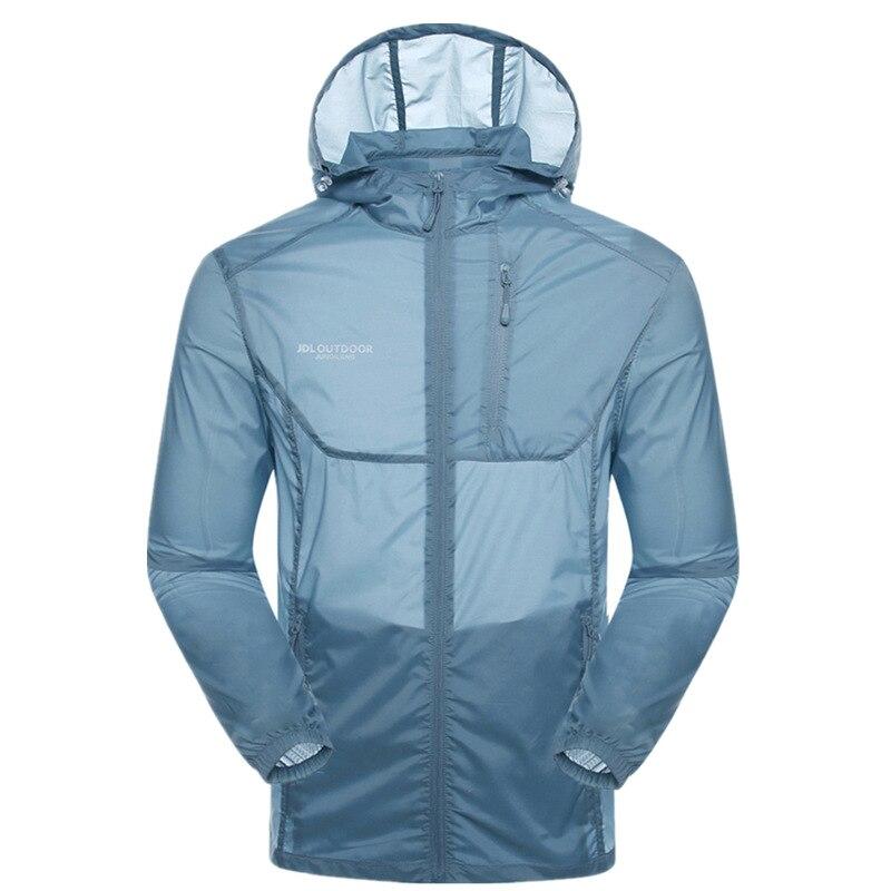 Wind Shield Men's Ultrathin Breathable Sun Protection Clothing Men's Sun Protection Clothing Coat UV-Protection Skin Dust Coat