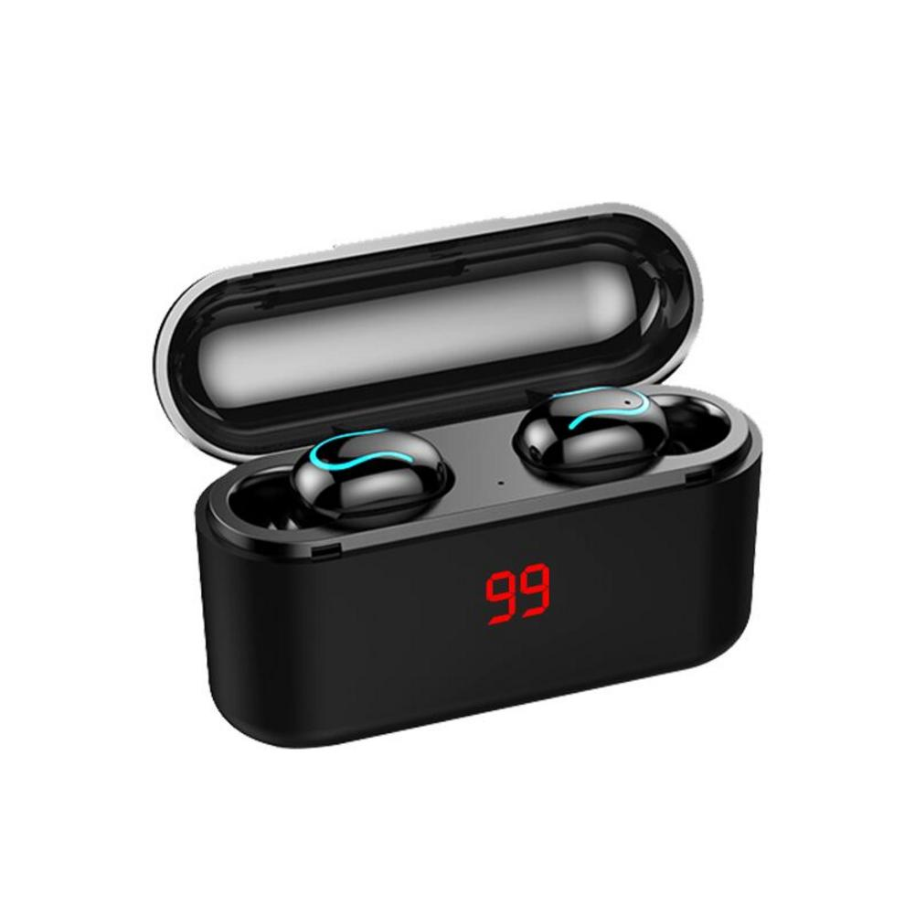 Q32S Min Bluetooth 5 0 Earphone Wireless Binaural Ultra small Sports In ear Running Earbuds Stereo Earphones in Bluetooth Earphones Headphones from Consumer Electronics