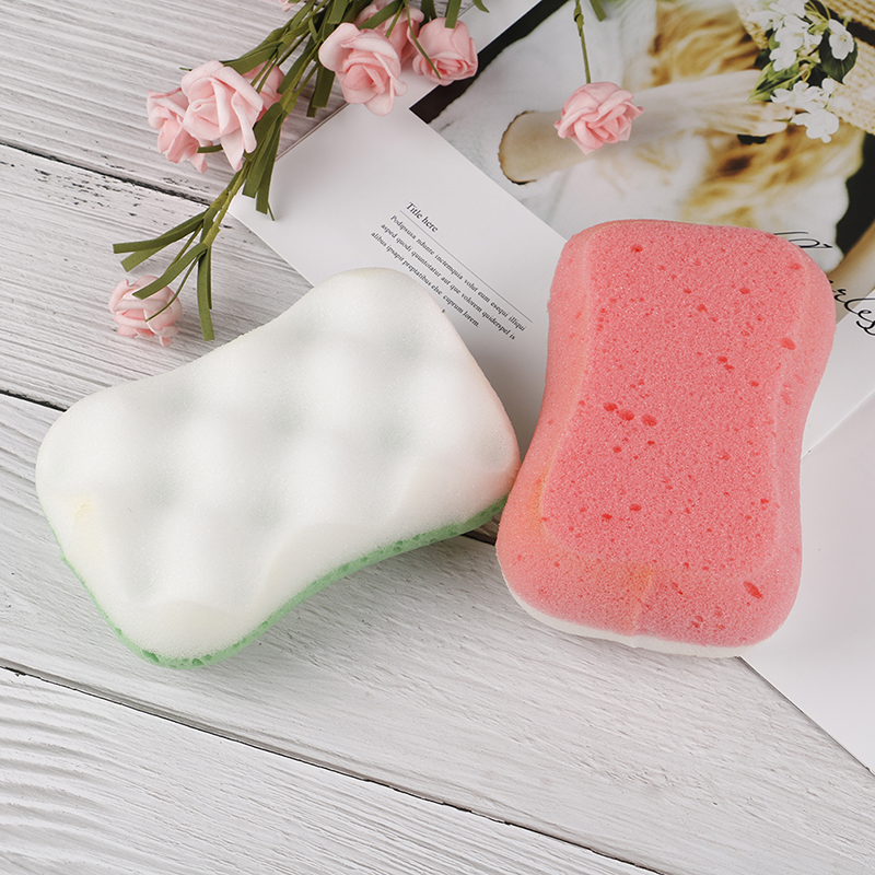 1 pc esponja de banho macio natural mar cuidados com a pele do bebê ou da senhora banho de limpeza do corpo escova