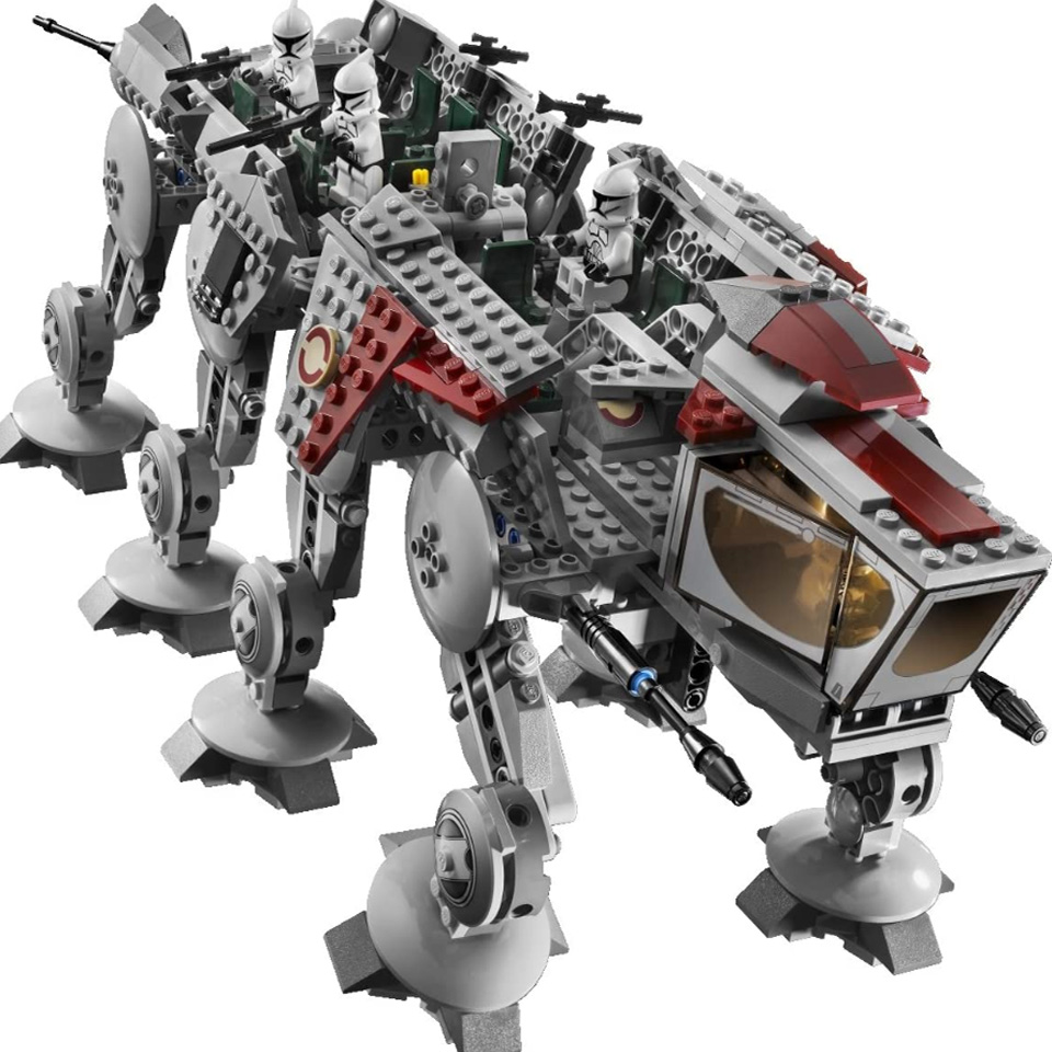 05053 Star Series Wars Plan The lepining <font><b>10195</b></font> Republic Dropship Set Building Blocks Bricks Assembly Children Toys Kids Gifts image