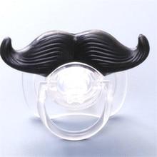 Pacifier Silicone Nipples-Teether Funny 1pcs Toddler Joke Beard Prank Orthodontic Christmas