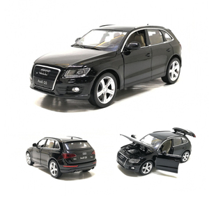 Image 2 - Diecast Toy Model 1:32 Scale New Audi Q5 Sport SUV Car With Pull Back Sound Light Children Gift Collection Free Shipping