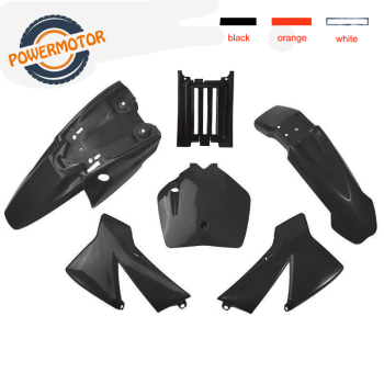 Kit de guardabarros de plástico de 3 colores para KTM SX 50CC 50 50SX KTM50 Mini Adventure Junior Adventur 2003-2008 Dirt Bike Pit Bike, novedad