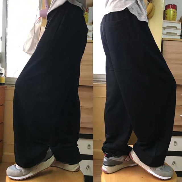 Fashion Hip Hop Streetwear Harem Pants Men Sweatpants Loose Baggy Joggers Track Pants Cotton Casual Trousers Male Clothes 2