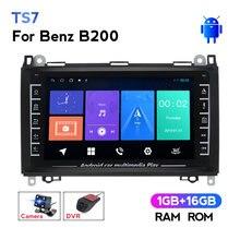 Autoradio Android BT, Navigation GPS, lecteur multimédia, sans DVD, 1280X720, pour voiture Mercedes Benz B200 A B classe W169 W245 Viano Vito W639