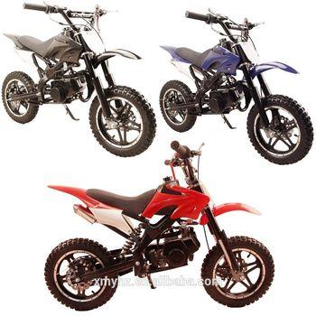 Bicicleta de cross de gran calidad, Cool 49cc super mini motocross pocket dirt bike (SHDB-016)