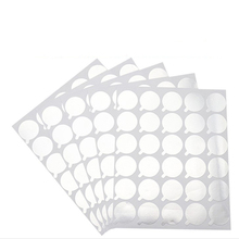 100pcs Disposable Grafted Eyelash Glue Holder Pallet Sticker Extension Pad Under  Eyes Makeup Tool
