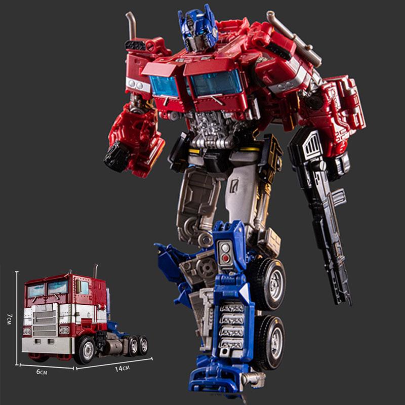 Трансформеры автомобильные игрушки Optimus Prime ПВХ экшн-фигурки SS38 OP Sai Star Commander грузовик KO фильм робот-трансформер игрушки
