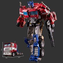 Transformers carro brinquedos optimus prime pvc figura de ação ss38 op sai estrela comandante caminhão ko filme transformação robô modelo brinquedos