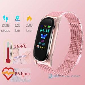 Цифровые часы с температурой, женские спортивные часы, электронные светодиодные женские наручные часы для мужчин и женщин, модные наручные ...