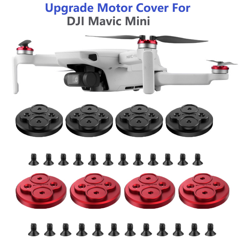 Upgraded Motor Covers Scratch-proof Propellers Protective Aluminum Alloy Motor Cover for DJI Mavic Mini Drone Accessories
