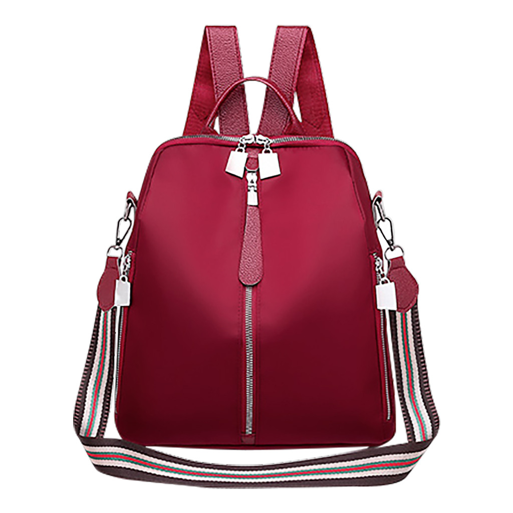 Fashion Women Leather Backpacks Schoolbags Travel Shoulder Bag  Outdoor Bags  For Summer