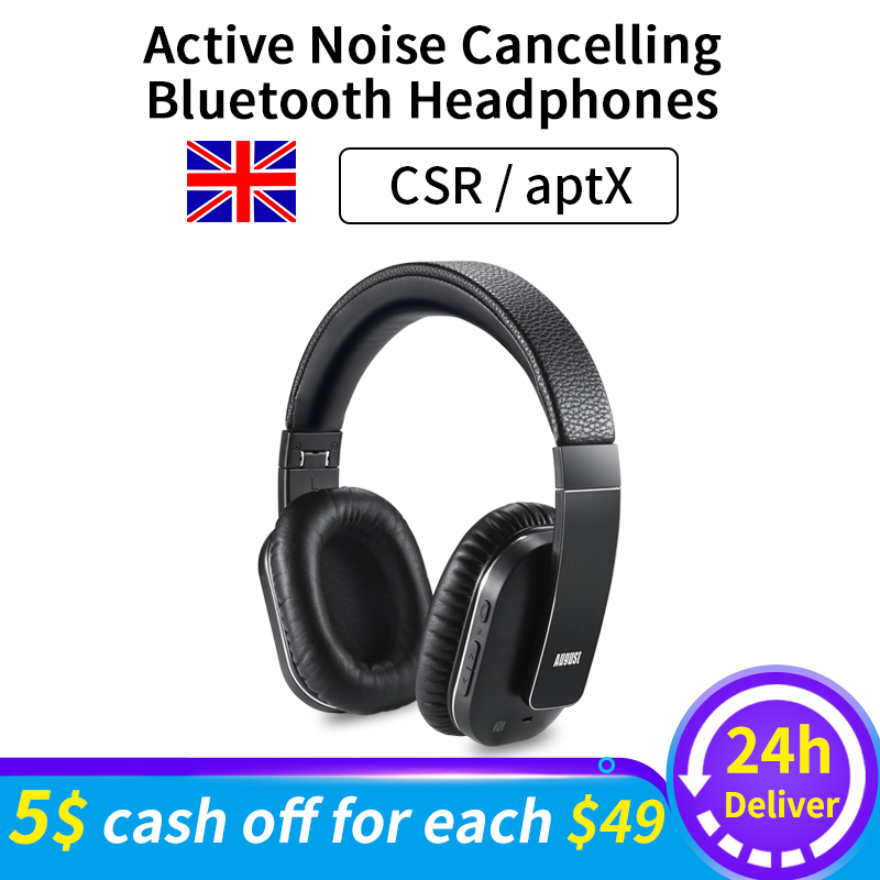 EP750 aptX activa Cancelación de ruido auriculares inalámbricos Bluetooth con micrófono auriculares Bluetooth ANC para viajes por aire