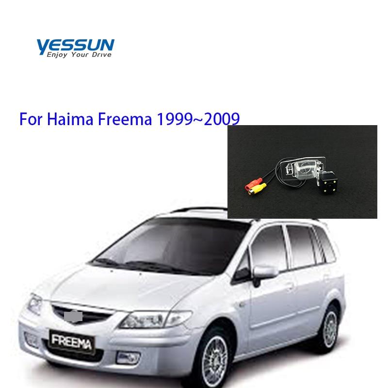 Yessun HD CCD Ночное видение автомобиля зеркало заднего вида резервная камера водонепроницаемая для Haima Freema 1999 ~ 2009