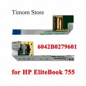 for HP EliteBook 755 745 820 G3 HP Probook 640 G2 Fingerprint Reader Board + Cable Original 6042B0279601 821165-001 6042B0279601