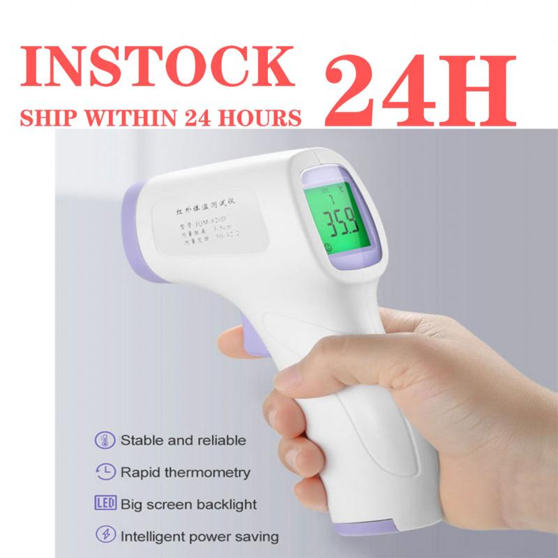 Baby Thermometer  Digital Infrared LCD Body Measurement Non Contact Thermometer Forehead Ear Adult Body Fever IR Thermometer