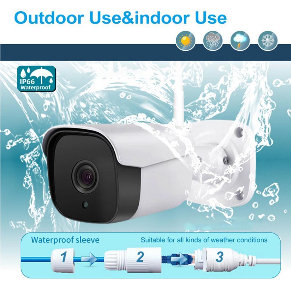 Ip66 방수 1080 p 와이파이 감시 카메라 CK 618HF 와이파이 무선 보안 카메라 야외 야간 버전 cctv 홈-에서감시 카메라부터 보안 & 보호 의 title=