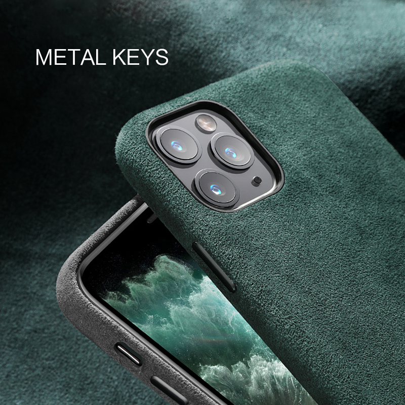 SanCore for iPhone 11 pro Max Phone Case ALCANTARA fashion Leather Full protection Business Luxury Phone SanCore for iPhone 11 pro Max Phone Case ALCANTARA fashion Leather Full-protection Business Luxury Phone Shell Suede cover man