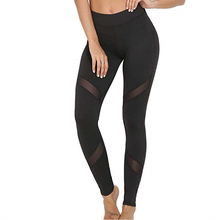 Workout-Leggings Activewear Legins Push-Up Spandex Sexy Fitness Black High-Waist Women