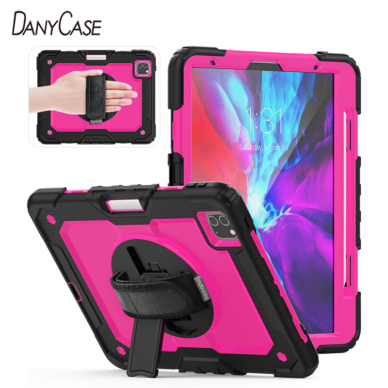 2020 iPad Pro Case For 2018 iPad Pro 12 9 inch Case With Pencil Holder Cover