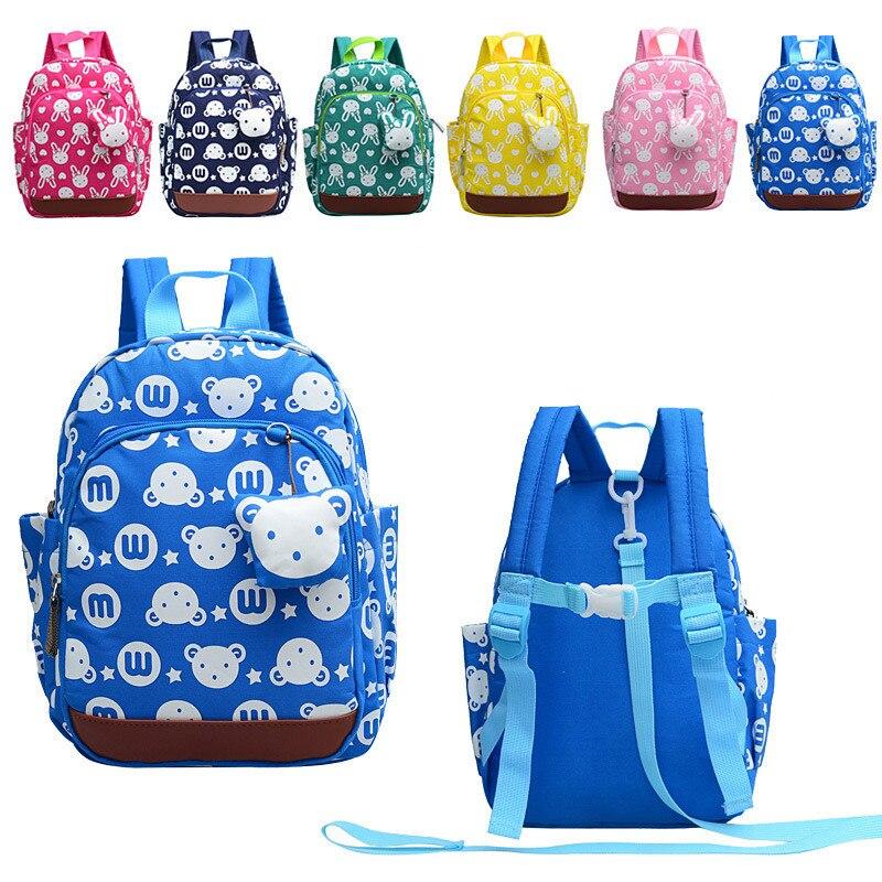 Mochilas Escolares Infant Baby Toddler Walking Assistant Kids Boys Girls Kindergarten School Bag Anti-lost Backpack Strap Bag