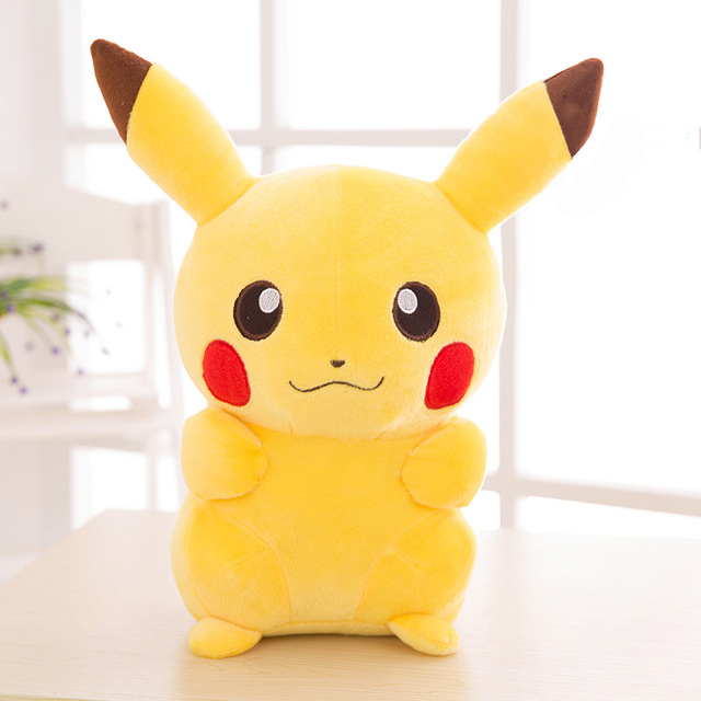 NEW TAKARA TOMY Pokemon Pikachu Plush Toys Stuffed Toys Japan Movie Pikachu Anime Dolls Christmas Birthday Gifts for Kids 2