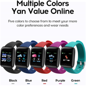 Image 5 - Smart Watch 116 Plus Color Screen Heart Rate Smart Wristband Sports Watches Smart Band Waterproof Smartwatch for Android iOS