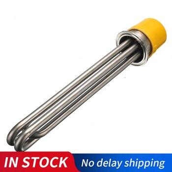 Impulsionador bonde 3kw/4. 5kw/6kw 380 v do elemento de imersão da substituição do calefator de água da tubulação de aquecimento da linha