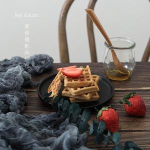 Image 4 - Фотография Мерцающая Марля муслиновая ткань для еды Фотография реквизит для съемки Косметика фото фон аксессуары