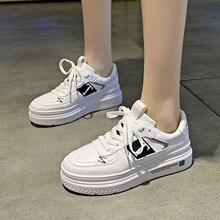 Hot Sale Spring Women Shoes Summer Women White Casual Shoes Breathable Flats Fashion Sneakers Women Vulcanization Shoes D0082 недорого