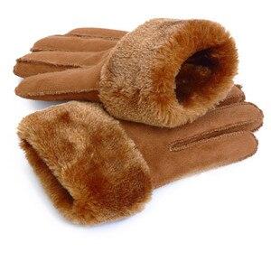 2019 Winter Men Deer Skin Leat