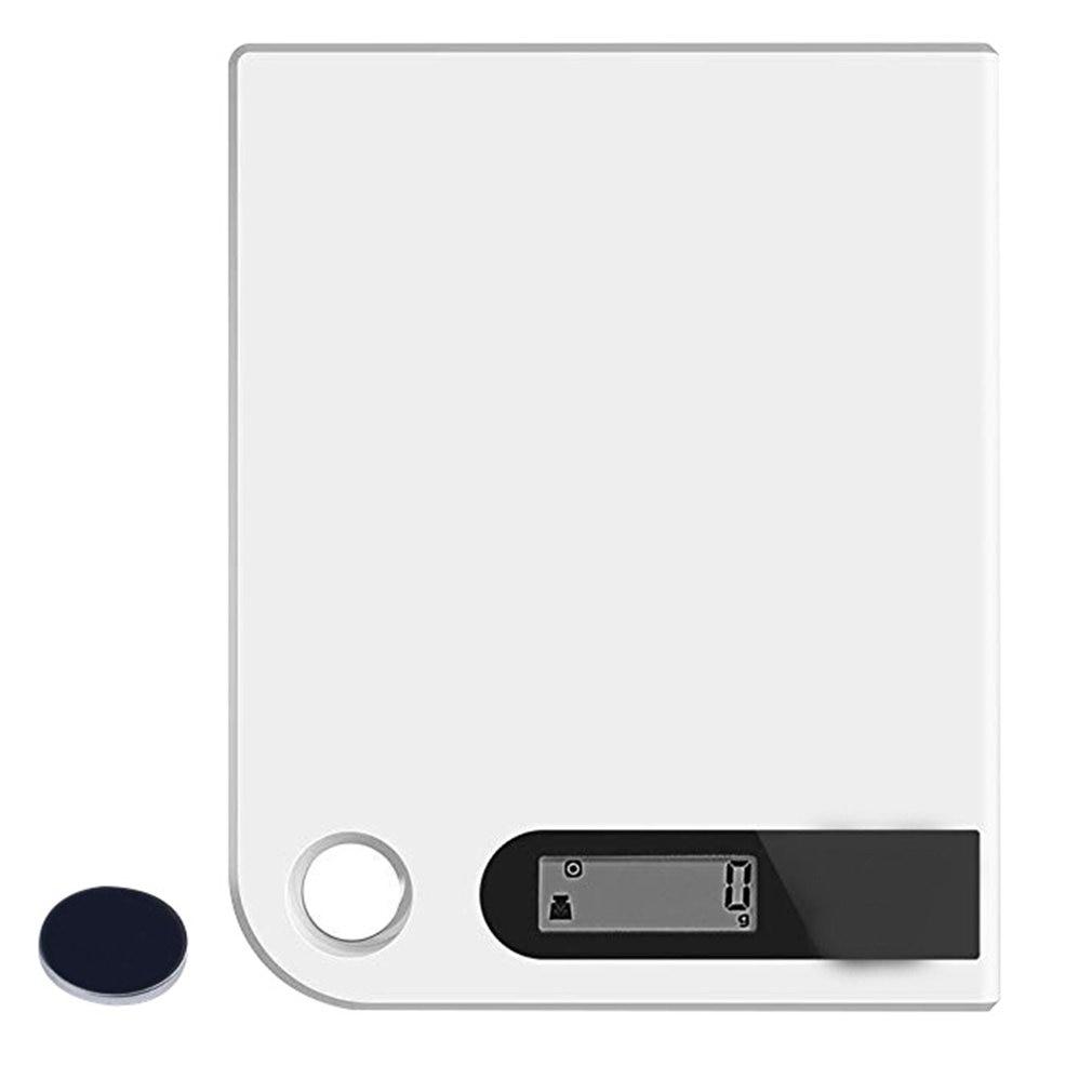 Ultra Slim Digitale Keukenweegschaal Rvs Elektronische Voedsel Weegschaal Met Grote Platform En Lcd Display-in Keukenweegschaal van Huis & Tuin op title=