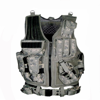 Military equipment tactical vest police training combat armor gear army paintball hunting airsoft vest molle protective vests