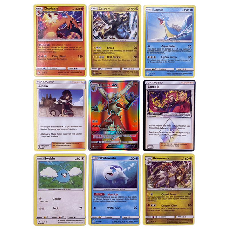 324 Cards Pokemon Card Sword & Shield Cosmic Eclipse Booster Box (Pack of 36) Trading Card Game Kids Collection Toy gift 3
